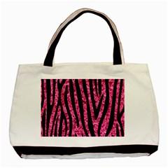 SKN4 BK-PK MARBLE Basic Tote Bag