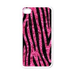 SKN4 BK-PK MARBLE Apple iPhone 4 Case (White)
