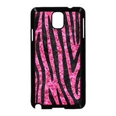 SKN4 BK-PK MARBLE Samsung Galaxy Note 3 Neo Hardshell Case (Black)