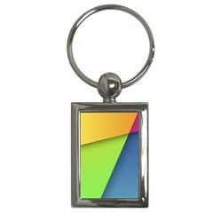 Lock Screen Key Chains (Rectangle)