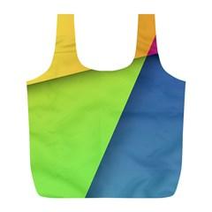 Lock Screen Full Print Recycle Bags (L)