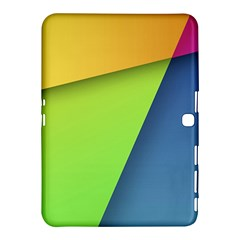Lock Screen Samsung Galaxy Tab 4 (10.1 ) Hardshell Case