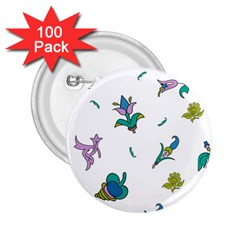 Leaf 2.25  Buttons (100 pack)