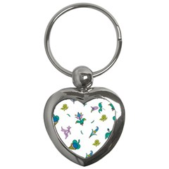 Leaf Key Chains (Heart)