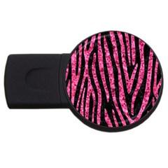 SKN4 BK-PK MARBLE (R) USB Flash Drive Round (4 GB)