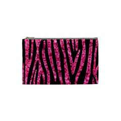 SKN4 BK-PK MARBLE (R) Cosmetic Bag (Small)