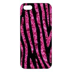 SKN4 BK-PK MARBLE (R) iPhone 5S/ SE Premium Hardshell Case