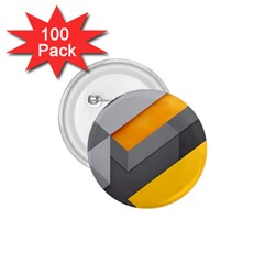 Marshmallow Yellow 1.75  Buttons (100 pack)