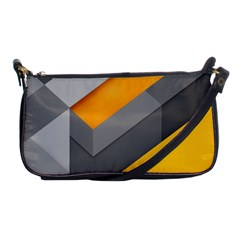 Marshmallow Yellow Shoulder Clutch Bags