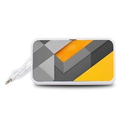 Marshmallow Yellow Portable Speaker (White)