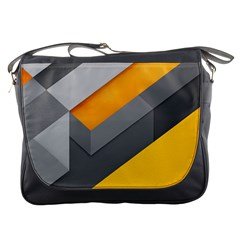 Marshmallow Yellow Messenger Bags