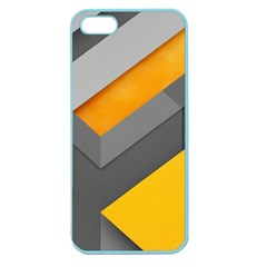 Marshmallow Yellow Apple Seamless iPhone 5 Case (Color)