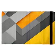 Marshmallow Yellow Apple iPad 2 Flip Case
