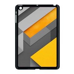 Marshmallow Yellow Apple iPad Mini Case (Black)