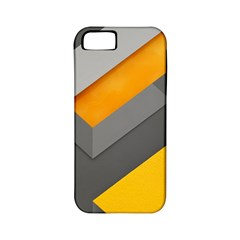Marshmallow Yellow Apple iPhone 5 Classic Hardshell Case (PC+Silicone)