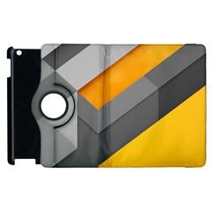 Marshmallow Yellow Apple iPad 3/4 Flip 360 Case