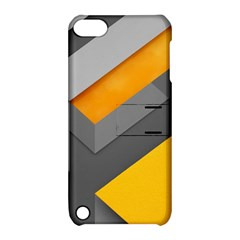 Marshmallow Yellow Apple iPod Touch 5 Hardshell Case with Stand