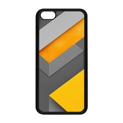 Marshmallow Yellow Apple iPhone 5C Seamless Case (Black)