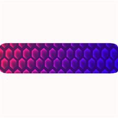 Outstanding Hexagon Blue Purple Large Bar Mats