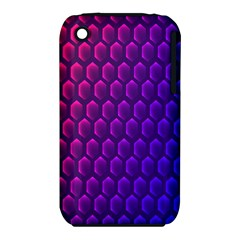 Outstanding Hexagon Blue Purple iPhone 3S/3GS
