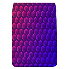 Outstanding Hexagon Blue Purple Flap Covers (L)