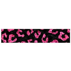 SKN5 BK-PK MARBLE (R) Flano Scarf (Small)