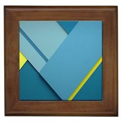 New Bok Blue Framed Tiles