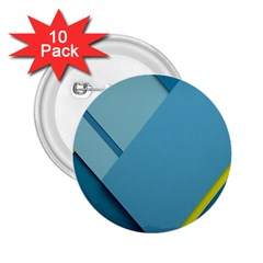 New Bok Blue 2.25  Buttons (10 pack)