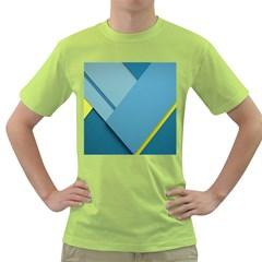 New Bok Blue Green T Shirt