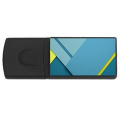 New Bok Blue USB Flash Drive Rectangular (4 GB)