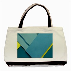 New Bok Blue Basic Tote Bag (Two Sides)