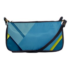 New Bok Blue Shoulder Clutch Bags