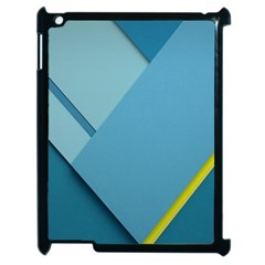 New Bok Blue Apple iPad 2 Case (Black)