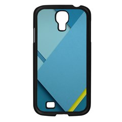 New Bok Blue Samsung Galaxy S4 I9500/ I9505 Case (Black)