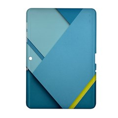 New Bok Blue Samsung Galaxy Tab 2 (10.1 ) P5100 Hardshell Case