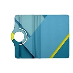 New Bok Blue Kindle Fire HD (2013) Flip 360 Case