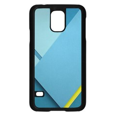 New Bok Blue Samsung Galaxy S5 Case (Black)