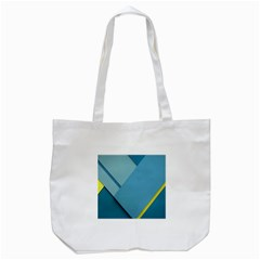 New Bok Blue Tote Bag (White)