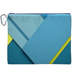 New Bok Blue Canvas Cosmetic Bag (XXXL)