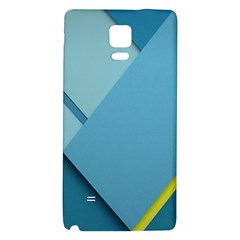 New Bok Blue Galaxy Note 4 Back Case