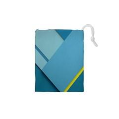 New Bok Blue Drawstring Pouches (XS)