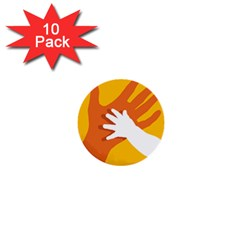 Hand Mom Soon Cute Mains Copy 1  Mini Buttons (10 pack)