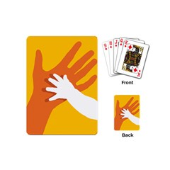 Hand Mom Soon Cute Mains Copy Playing Cards (Mini)
