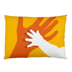 Hand Mom Soon Cute Mains Copy Pillow Case (Two Sides)