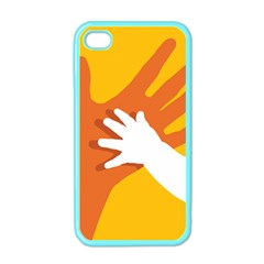Hand Mom Soon Cute Mains Copy Apple iPhone 4 Case (Color)