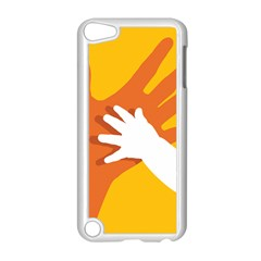 Hand Mom Soon Cute Mains Copy Apple iPod Touch 5 Case (White)