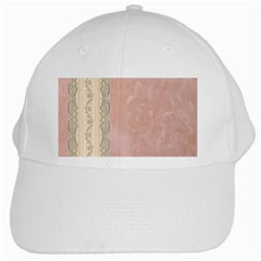 Guestbook Background Victorian White Cap