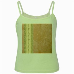 Guestbook Background Victorian Green Spaghetti Tank