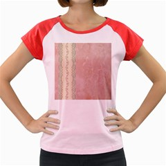 Guestbook Background Victorian Women s Cap Sleeve T-Shirt