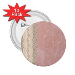 Guestbook Background Victorian 2.25  Buttons (10 pack)